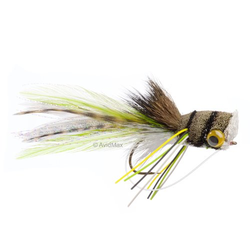 Umpqua Deerhair Bass Bug Frog 2 2 ()