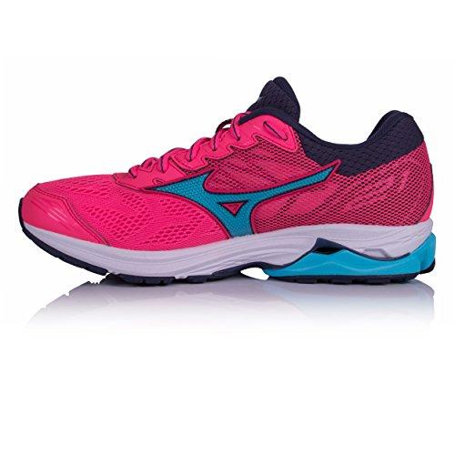 Wos De Pink Chaussures Wave Femme Rider 21 Noir Running Mizuno tCwg7qZ