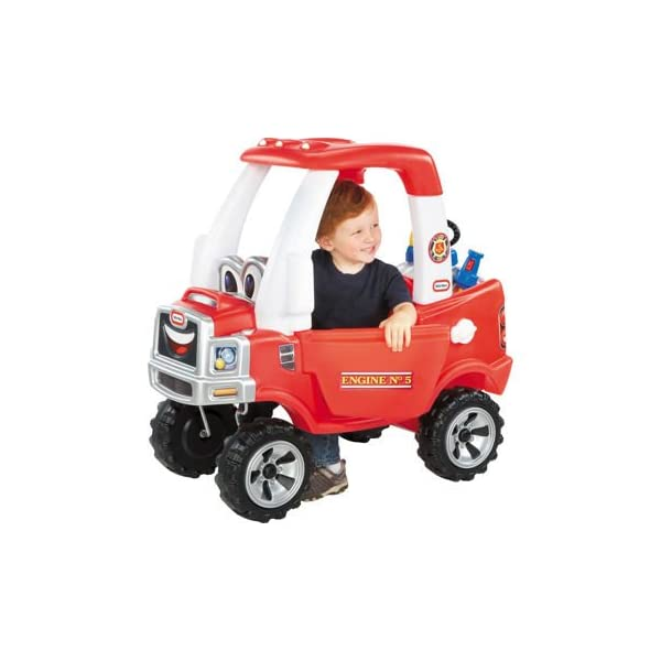 Little Tikes Cozy Fire Truck – (Amazon Exclusive) 1