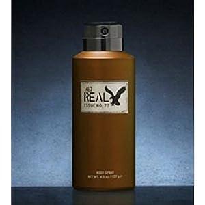 American Eagle Real for Him Men Body Spray, 4.5 Oz / 127 G