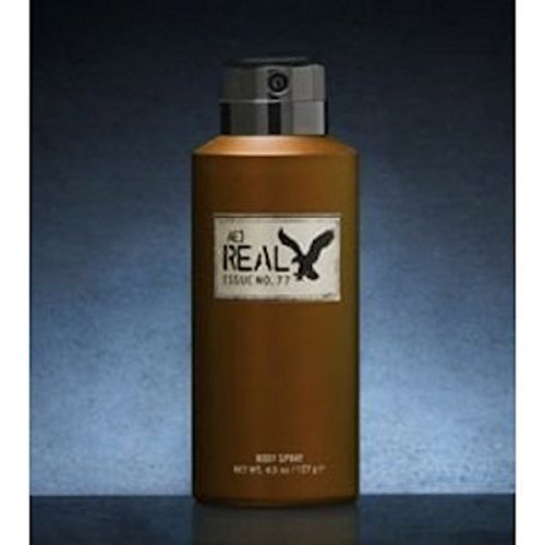 American Eagle Real for Him Men Body Spray, 4.5 Oz / 127 G