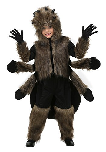 Toddler Furry Spider Costume 4T -