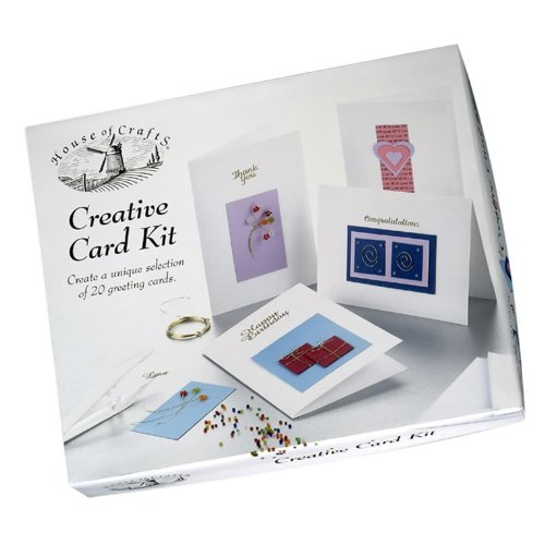 House of Crafts Creative Card Kit House Of Crafts Limited HC420