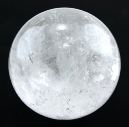 Healing Crystals India Natural Semi Precious Metaphysical Clear Quartz Ball Sphere 55 to 65 mm
