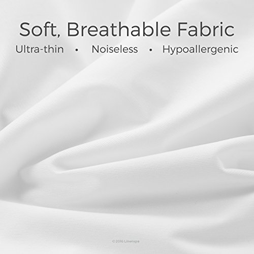 LINENSPA Premium effortless Fabric Mattress Protectors
