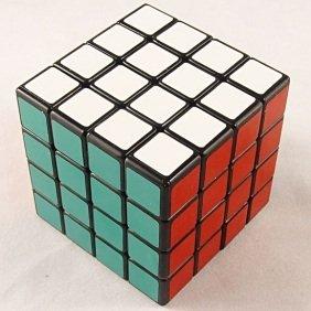Shengshou ® 4x4x4 Puzzle Cube Black image