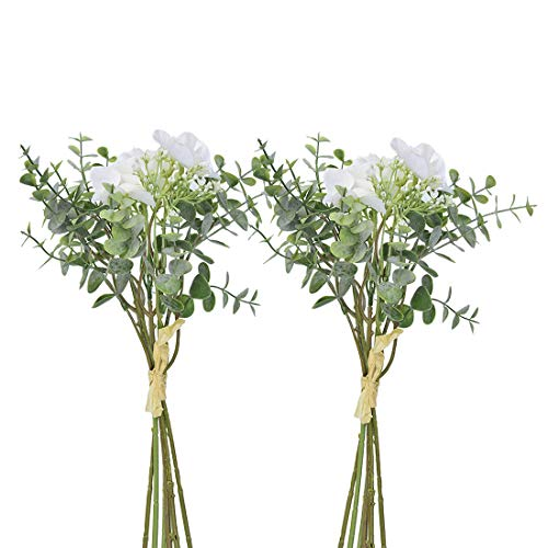 Anna Homey Decor Pack of 2 Bundles Artificial Flowers bouquet Baby