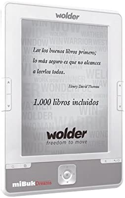 Wolder miBuk Dreams - E-Reader (152.4 mm (6