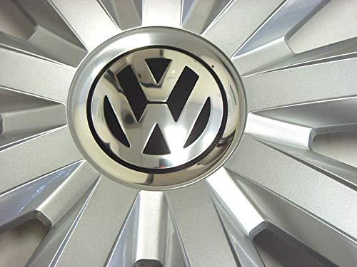 Genuine OEM VW Hub Cap Jetta-Sedan 2011-2014 9-Spoke Cover Fits 15-Inch Wheel by Volkswagen (Image #1)