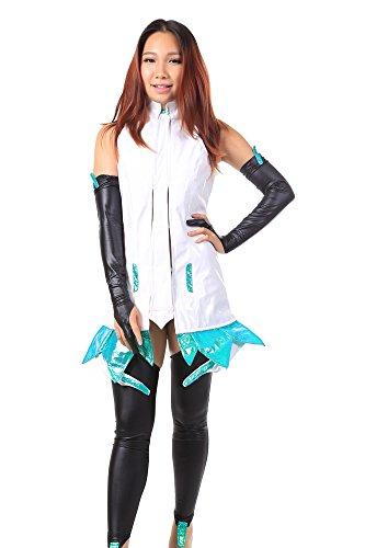 De-Cos Vocaloid Family Hatsune Miku Append Ver Outfit V3 (Hatsune Miku Append Costume)