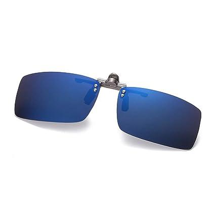KOMNY Modelos Masculinos y Femeninos de Aluminio y magnesio Clips polarizados 806 Gafas de Sol reflexivas