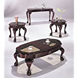 Oval 3pc Coffee/End Table Set #AC 018195