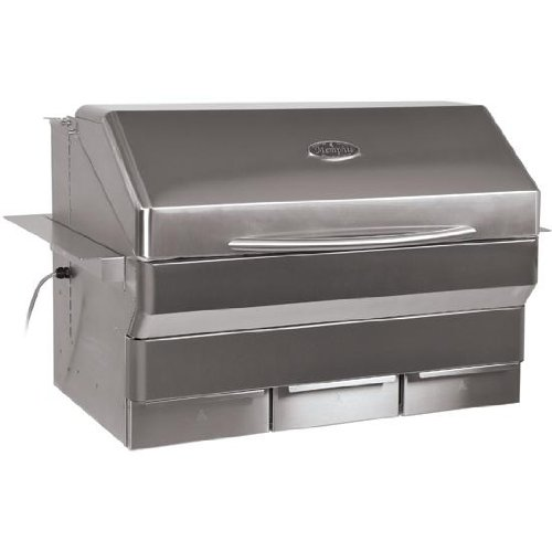 Memphis Grills Elite Wood Fire Pellet Smoker Grill Wi-Fi (VGB0002S), Built-in, 304 Stainless Steel -