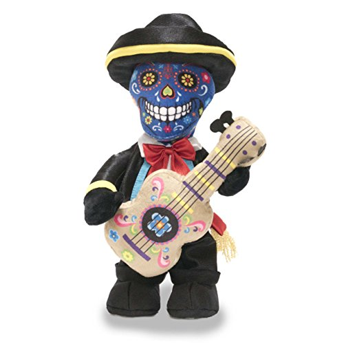 Sing 12' Plush (Cuddle Barn Las Calaveras - Pedro 12'' Mariachi Skeleton dances to