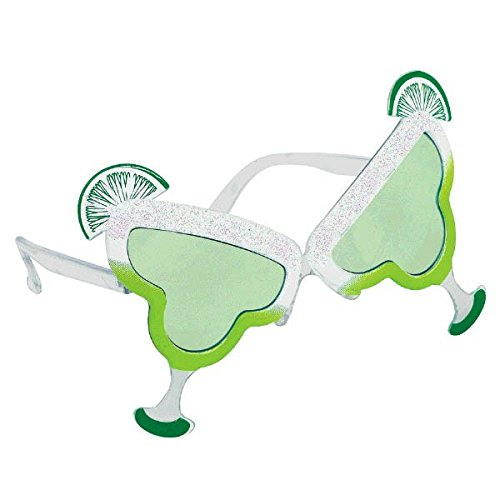 Party Ready Lime Margarita Funshades Accessory, Plastic, Standard (Margarita Man Costume)