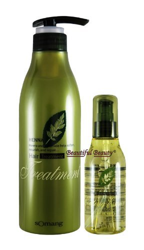 HENNA HAIR TREATMENT 500ml + COATING ESSENCE 120ml (Best Hair Oil For Mens In Pakistan)