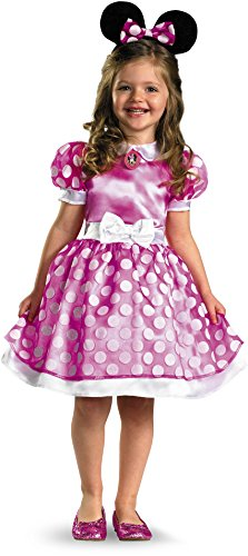 Minnie Mouse Clubhouse Classic Toddler Costume - 2T (Baby Halloween Costume Minnie Mouse)
