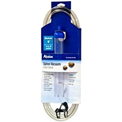 Aqueon Medium Siphon Vacuum Aquarium Gravel Cleaner, 9""