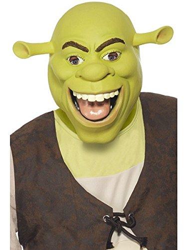 Smiffys Officially Licensed Shrek Latex Mask
