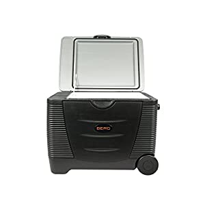 Berg Large Electric Portable 45 Litre 12V 240V Cool Box / Bag Warm Cooler Camping Beach Take Away Food Picnic Insulated…