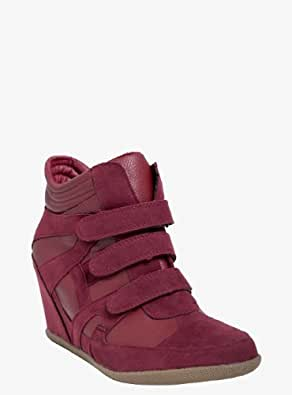 High-Top Wedge Sneaker (Wide Width)