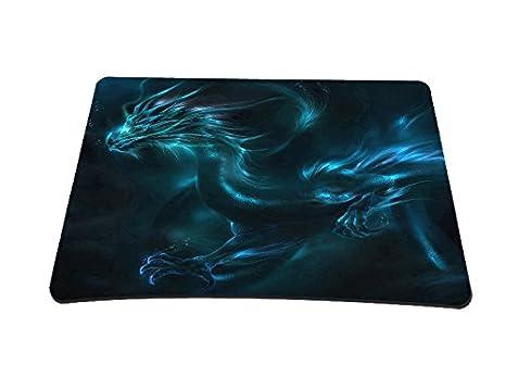 silent monsters tapis de souris 22 x 18 cm motif dragon multicolore - Tapis Souris