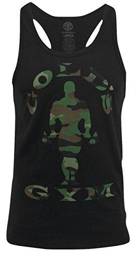 PunaFlex Gold's Gym Mens Tank Top ... (XX-Large, Black ()