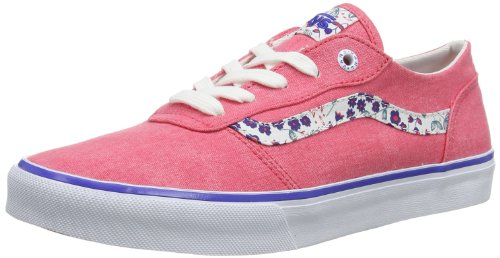 Vans W MILTON  (WASHED) ROUGE - Zapatillas de lona mujer rojo - Rot ((Washed) rouge)
