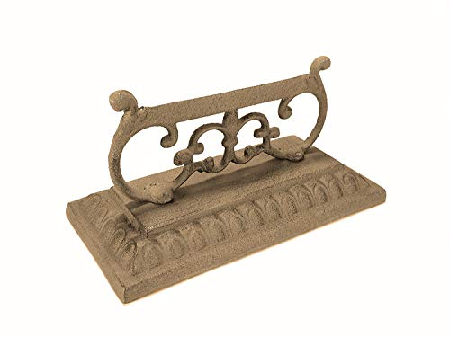Boot Scraper Cast Iron Vintage Style Floor - Boot Cast Brush