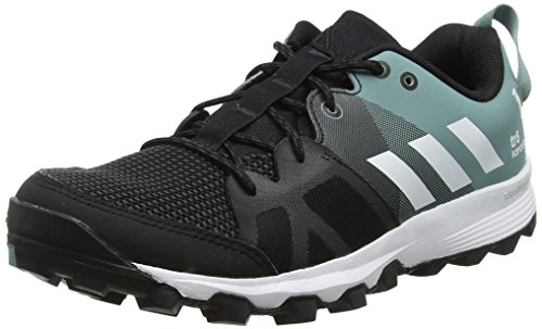 adidas Damen Kanadia 8 TR W Laufschuhe Schwarz (Color Core Black/ White/Vapour Steel)
