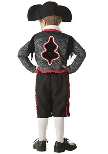 Little Boys' Matador Costume 4T Black,Red -
