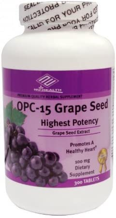 OPC-15 Grape Seed Extract 100 mg, 300 Tabs, Anti-oxidant Good Product