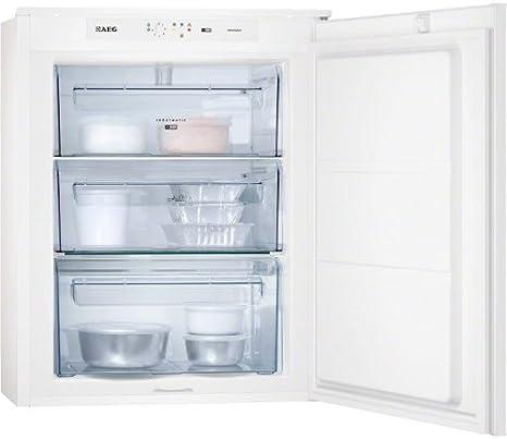 AEG AGS57200S0 - Congelador (Vertical, Incorporado, Color blanco ...