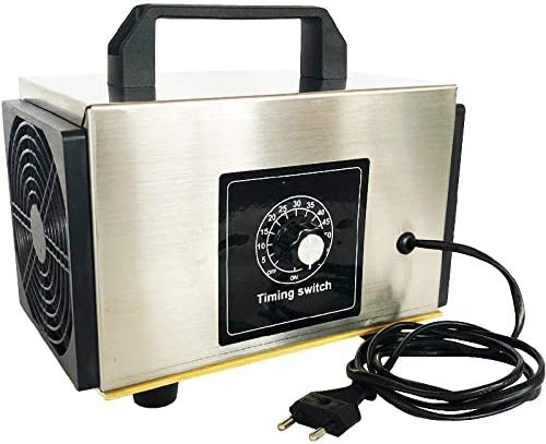 Generador de ozono 220v 10g / 24g / h ozonizador purificador de Aire de la máquina O3 Ozono Ozon Generador Desodorante Desinfección con Tiempos,220v 24g EU Plug: Amazon.es: Hogar