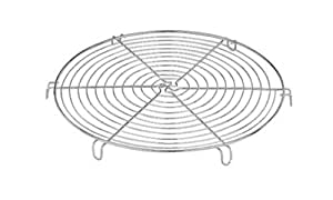 Paderno World Cuisine 8 5/8 Inch Chromed Round Cooling Rack