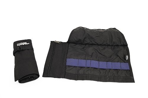 [Chase Harper 8875 Black Tool Roll with 8 Separate Tool Spaces] (Chase Harper Motorcycle)