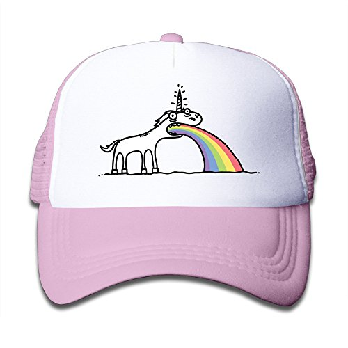 Price comparison product image Custom Young One Snapback Rainbow Unicorn Football Cap Hats Pink