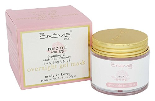 The Creme Shop - Rose Oil Overnight Gel Face Mask - 2.36 oz.
