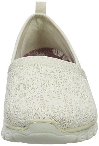 Quick Natural Sneakers 3 Escapade 0 Ez Skechers Women's Flex Slip On Beige wPqSPXf