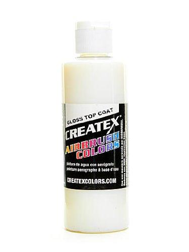 Createx Airbrush Gloss Top Coat 4 oz. bottle [PACK OF 3 ]