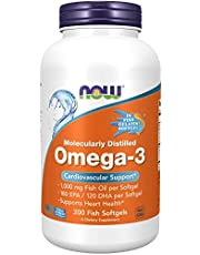 Supplements, Omega-3 180 EPA / 120 DHA, Molecularly Distilled, Cardiovascular Support