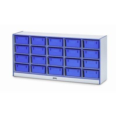 - Media Cart - Lockable - Blue