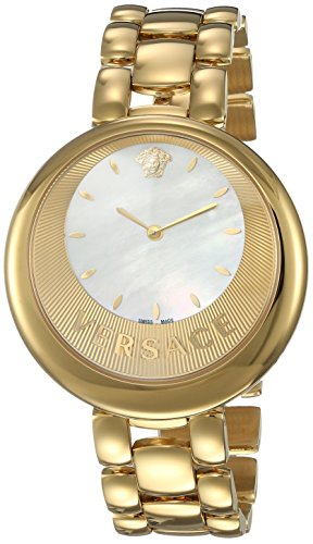 Versace-Womens-PERPETUELLE-Swiss-Quartz-Stainless-Steel-Casual-Watch-ColorGold-Toned-Model-VAQ080016
