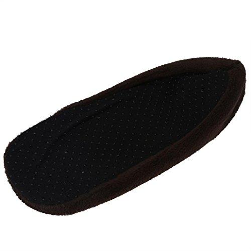 Calcetines Antideslizantes, Inkach 5 Pares Mujeres Niñas Calcetines Cómodos Para Suelo Interior Calcetines Deportivos Slip-resistant Bottom Sole Coffee