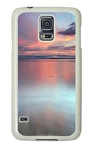 Beach Scene Custom Samsung Galaxy S5/Samsung S5 Case Cover Polycarbonate White