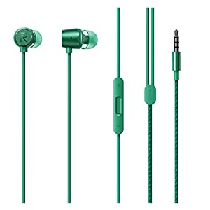 Realme Buds 2 with Mic for Android Smartphones (Green)