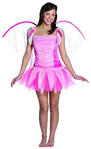 Adult Deluxe Pink Fantasy Fairy Costume - Womens Medium (Fairy Imposta Rasta Costume)