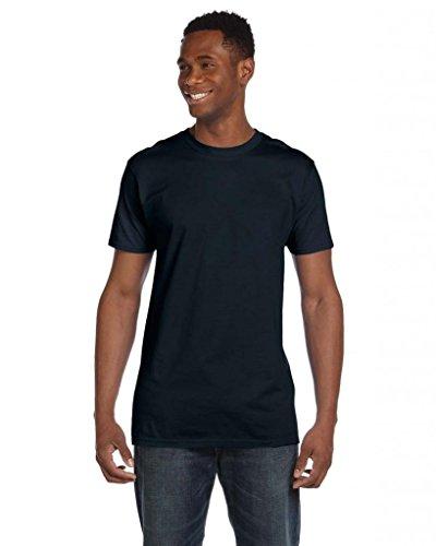 Hanes Herren Asymmetrischer T-Shirt xl schwarz - Vintage Black