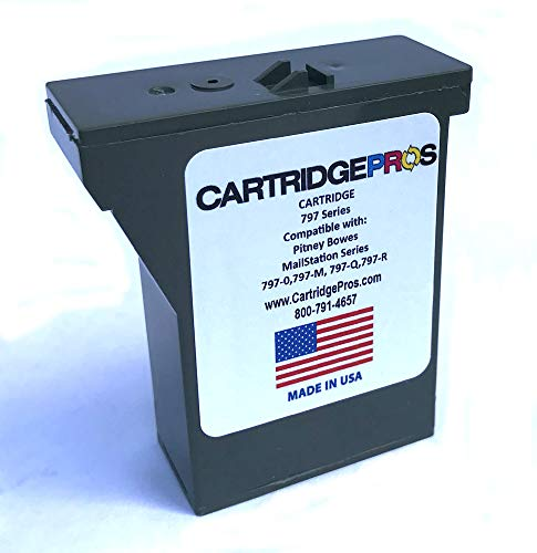 - Pitney Bowes 797-M Red Postage Meter Compatible Cartridge for MailStation 1 & 2. Made in USA!