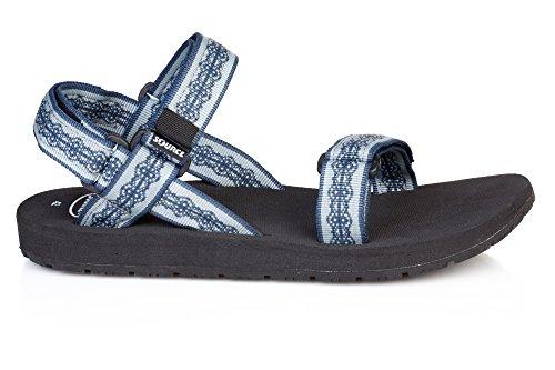SOURCE - Classic Herren Sandalen Weave Blue